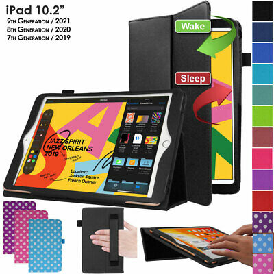 """for Apple iPad 10.2"""" 2019 7 7th Generation Leather Flip Smart Case Stand Cover"""