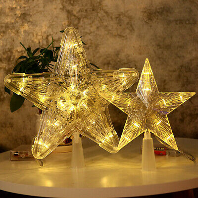 New Christmas Tree LED Lamp Star Light Battery Xmas Tree for Christmas Party BY