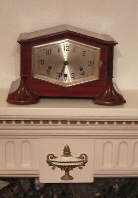 Beautiful Vintage Large Mantel Clock..''westminster Chime''....1930/40