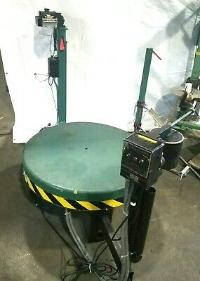 PA Industries Motorized Stock Decoiler with Leveler Holds Pallets and Coils