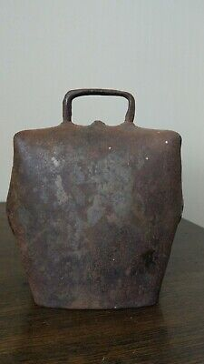 Vintage Alfred Ormand Condomine Cow Bell