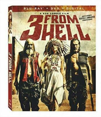 3 FROM HELL (Region A BluRay,US Import,sealed.)