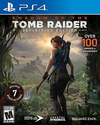 Shadow Of The Tomb Raider: Definitive Edition - Playstation 4 Pre-order