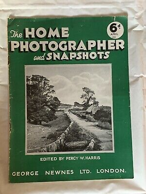 The Home Photographer and Snapshots Magazine April 1933