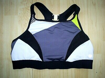 M&S 38 B  - 36 A Sports Bra Active Extra High Impact High Neck Sports Bra New