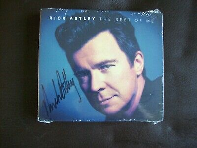 Rick Astley - The Best Of Me - Signed Edition.....NEW & SEALED