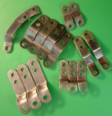 Clock Parts Spares - Movement Mounting Brackets - Mix Lot - Free Postage -