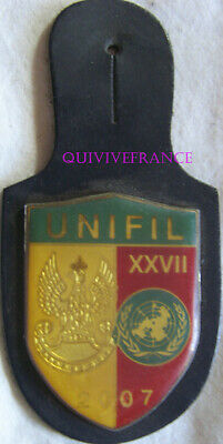 IN15581 - INSIGNE UNIFIL LIBAN XXVIIe MANDAT 2007 POLOGNE