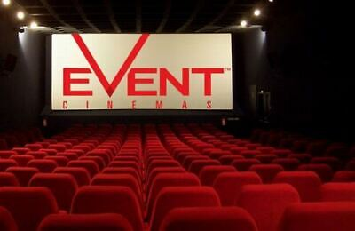 Event Cinema Movie Ticket No Booking Fee If Redeem By Person