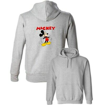 Mickey Mouse Welcome to Disney Print Sweatshirt Unisex Hoodies Graphic Hoody Top