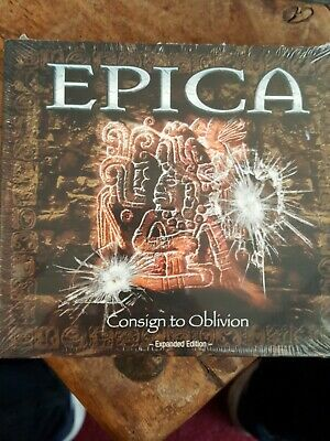 Epica : Consign to Oblivion CD expanded edition in digi pack new and sealed