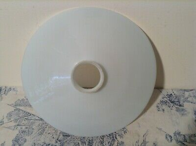 Vintage French Opaline Ceramic Coolie Light Shade (2057)