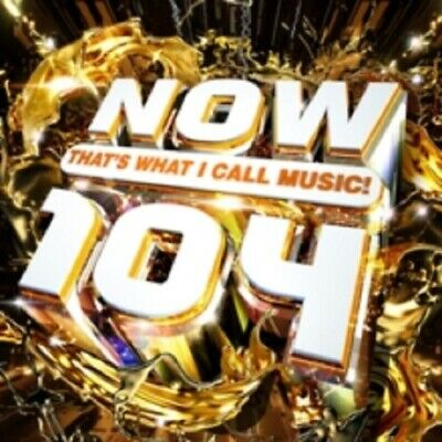 Various Artists Now That's What I Call Music 104 Thats 2 Disc New CD