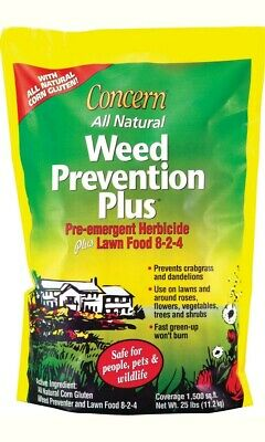 Woodstream Lawn & Grdn D-Concern Weed Prevention Plus Food Herbicide 25 Pound