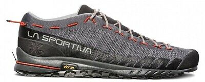 La Sportiva TX2 Approach Zapato - UK 7.5 , Carbono