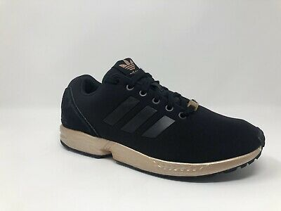 purchase cheap recognized brands lowest price WOMENS ADIDAS ZX Flux Core Black Copper Rose Gold Bronze ...