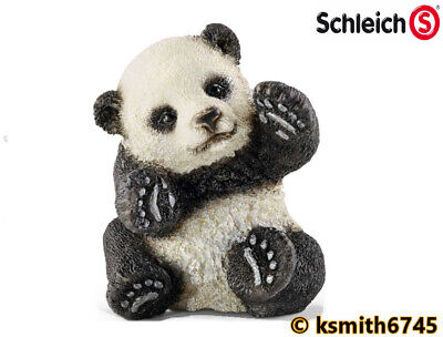 Schleich PANDA CUB solid plastic wild zoo jungle Asian baby ANIMAL * NEW 💥