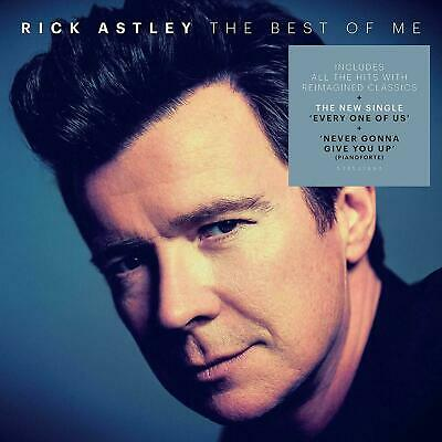 Rick Astley - The Best of Me  *SIGNED / AUTOGRAPHED*   2 x CD  **NEW**