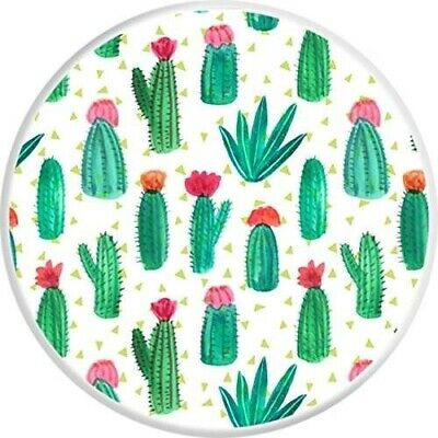 Pop Out Phone Holder Selfie Finger Grip Socket Stand Mobile Phones CACTUS CACTI