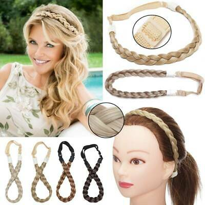 Fashion Hairband Twisted Braid Hair Band Braided Headband Bohemian Plait Gifts