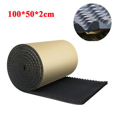 100X50cm 20MM Car Sound-proofing Absorbing Insulation Foam Mat Acoustic Panel