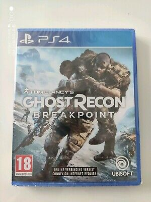 Ghost Recon Breakpoint version FR PS4 Neuf Sous Blister