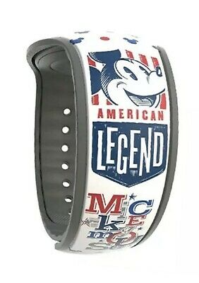Disney MagicBand American Legend Mickey Mouse Magic Band NEW Limited Release
