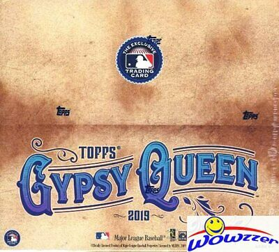2019 Topps Gypsy Queen Baseball MASSIVE Factory Sealed 24 Pack Retail Box-144 Cd