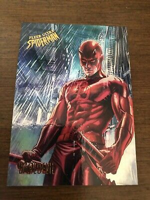 Fleer Ultra Spider-Man 2017 Rainbow Daredevil Extremely Hard To Get