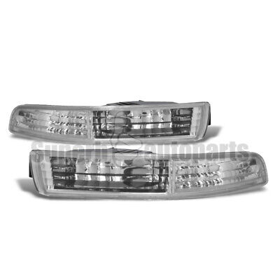 For 1994-1997 Acura Integra Front Bumper Lights Parking Signal Lamp JDM
