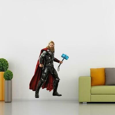 Thor Movie Wall Sticker Decal Decor Mural Super Hero Marvel Avengers WC226
