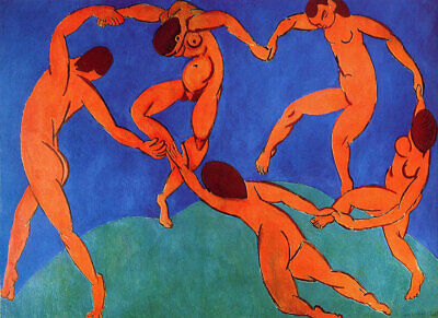 Odalisques 1928 HENRI MATISSE QUALITY A4 CANVAS Print poster