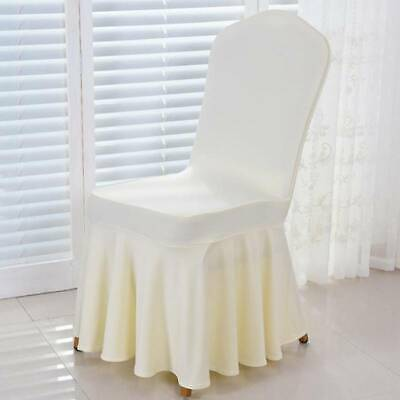 Chair Cover Stretchy Removable Soft Protective Case For Wedding Party Office B