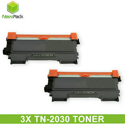 3x TN2030 TN-2030 toner Cartridge brother DCP7055 HL2130 HL2132 HY 2600 pages