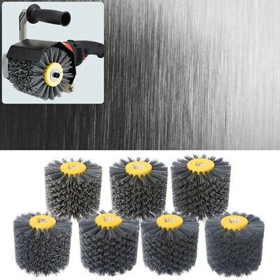 Brush Deburring Abrasive Wire Drawing Round Head Polishing Grinding Buffer Wheel