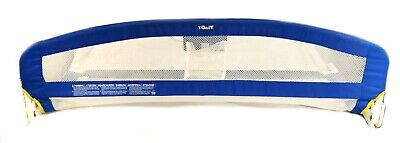 Tomy Blue Soft Child's Fold Down Bed Rail / Guard Safety