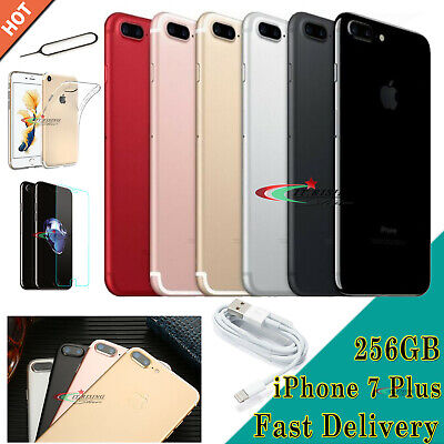 NEW Unlocked Apple iPhone 7 Plus 32GB 128GB 256GB All Colours Mobile Smartphone