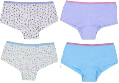 2 Pairs Girls Kids Briefs Knickers Pants Size Age 5-6 / 7-8 / 9-10 / 11-12