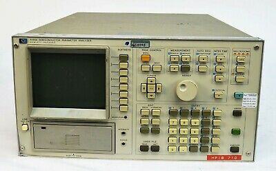 HP Agilent 4145A Semiconductor Parameter Analyzer *No Disk*