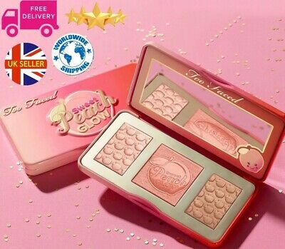 💗✨ Too Faced Sweet Peach Glow Palette Blusher Bronzer Highlighter Uk Stock ✨💗