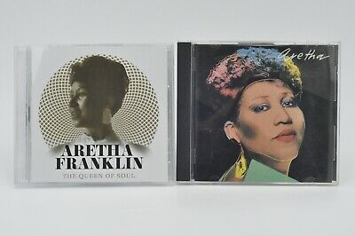 Aretha Franklin The Queen Of Soul 2 Cd (Greatest Hits) 2018 & Aretha Cd