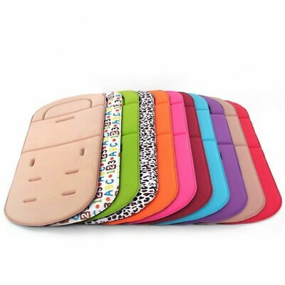 Car Seat Baby Stroller Cushion Support Pad Body Mat Pillow Head Liner Belt Cover