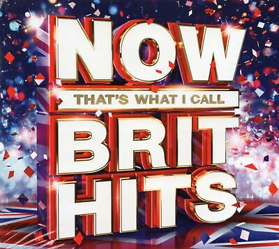 Now Thats What I Call Brit Hits (3 x CD) Little Mix/Bastille/Paloma Faith/Katy B