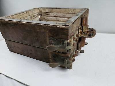 Antiques Foundry Mold Casting Flask 10 x 12 x 7