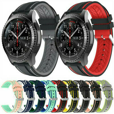 Replacement Silicone Wrist Strap Watchband For Samsung Galaxy Watch Gear S3 22mm