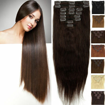 Black Plum Red Clip In Hair Extension curly wavy straight Snow White Beige Ash