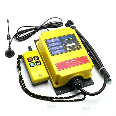 F21-2S 500M Electric Hoist Controller Industrial Wireless Remote Controller 220V