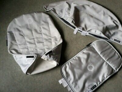 Bugaboo Cameleon  Silver Limited Edition fabric set, hood apron & seat cover