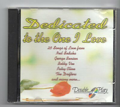 (JF258) Dedicated To The One I Love, 25 tracks various artists - CD