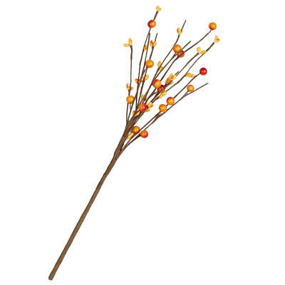 Factory Direct Craft Small Warm Fall Berry Picks with Twig Like Branches
